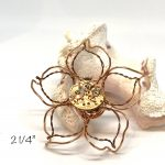 wire flower art or jewelry