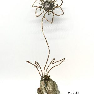 wire flower art or whimsey